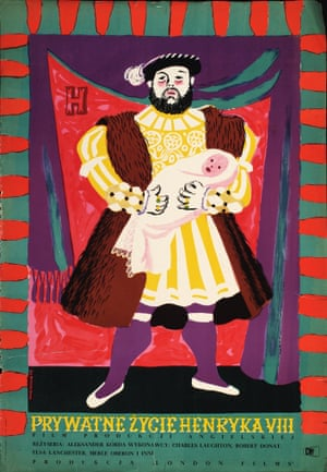 The Private Life of Henry VIII (Dir. Alexander Korda) designed by Jozef Mroszczak