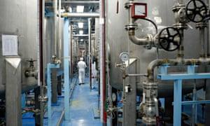 Iran's uranium enrichment facility in Isfahan