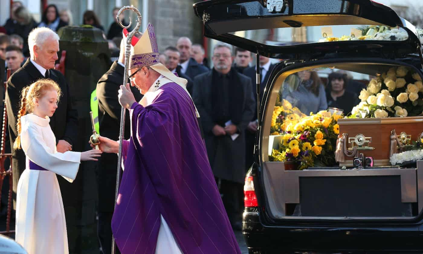 Glasgow lorry crash funerals take place