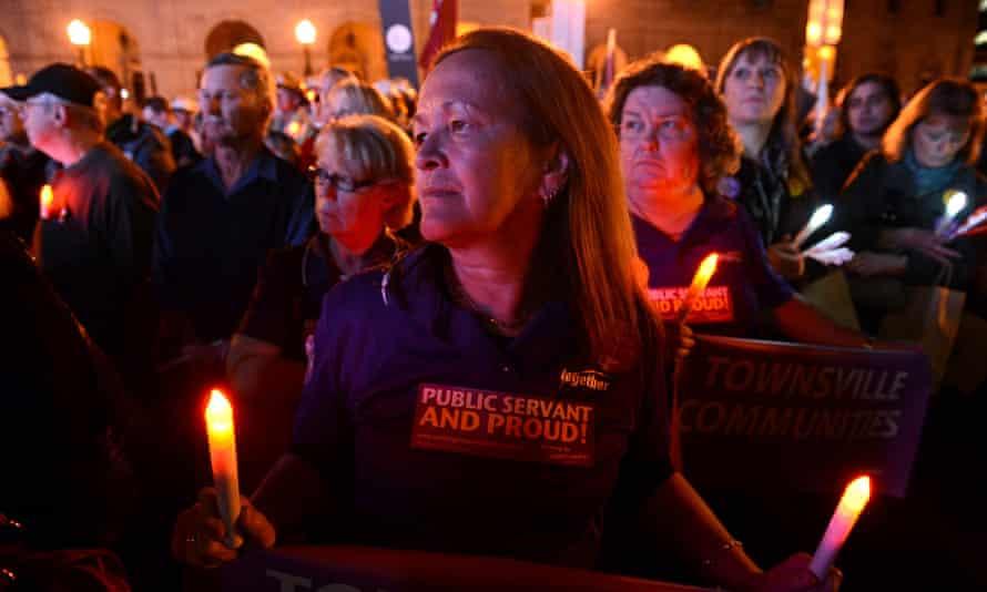 queensland protest
