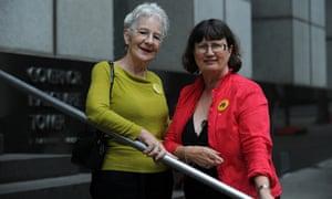 Care Leavers Australia Network (Clan) founders Joanna Penglase and Leonie Sheedy