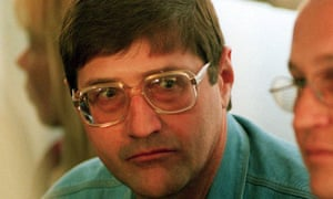 Eugene de Kock, head of a covert police unit that tortured and killed dozens of black activists, pictured in 1999, has been released on parole.