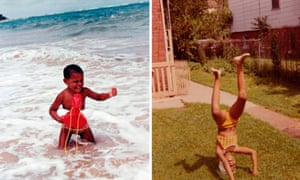 Michelle obama child hood pictures - andrew hudson national portrait gallery