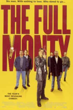 The Full Monty poster.
