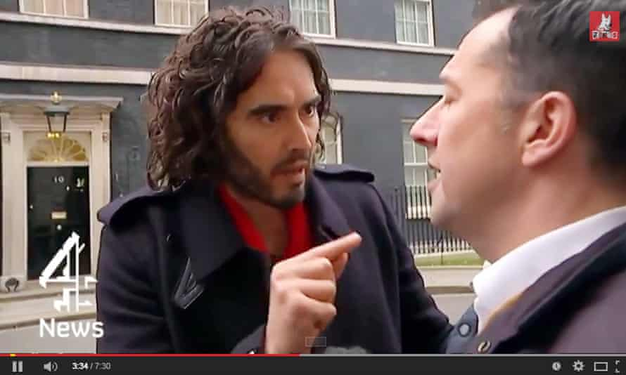 russell brand on youtube
