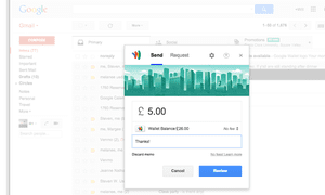 gmail sending money