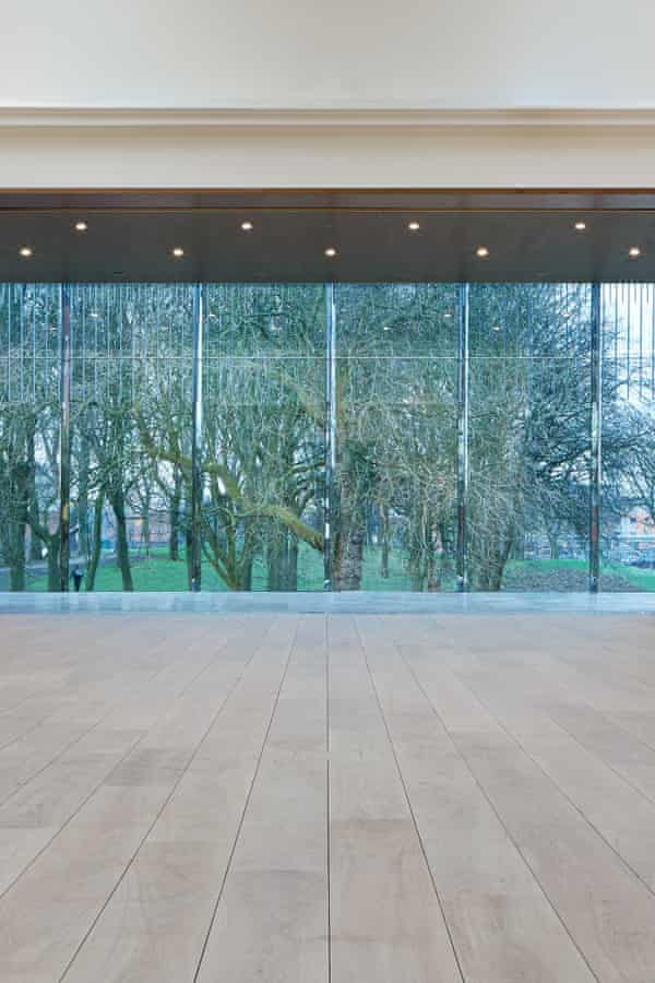 'Vistas have been created through and across the building into green stuff.'
