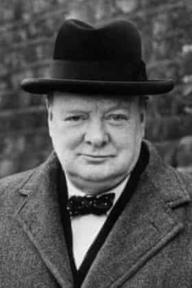 Sir Winston Churchill in 1940