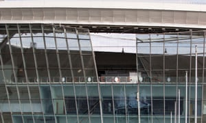 The Donbass Arena was damaged in October by shelling.