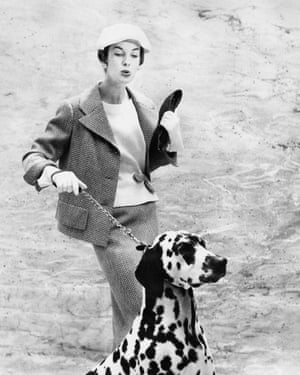 Vogue January1956 - photograph by Euegen Vernier