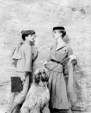 Vogue Januey 1956 - photograph by Eugene Vernier