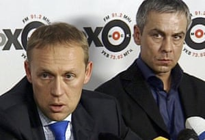 Andrei Lugovoi and Dmitry Kovtun