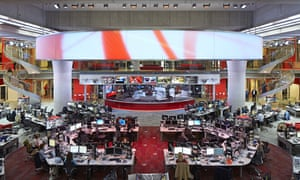BBC Broadcasting House newsroom