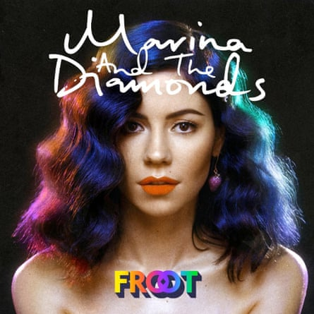 Marina and the Diamonds Froot album cover
