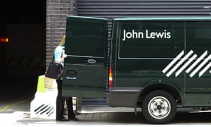 john lewis delivery van