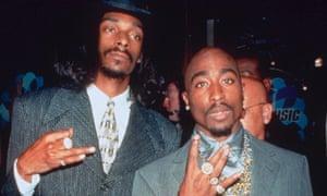 Tupac and Snoop Dogg