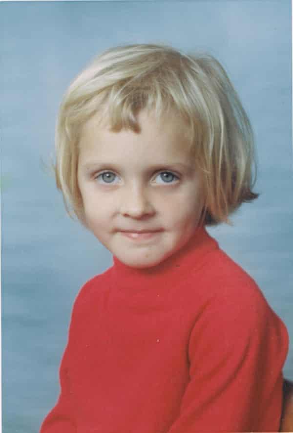 Katharine Norbury, aged five.