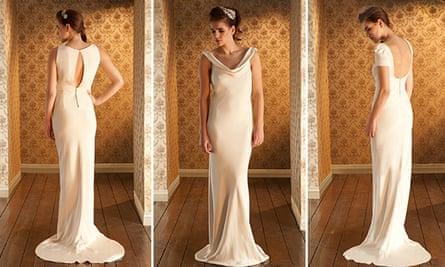 The Isadora, Josephine and Belle wedding dresses by Sabina Motasem