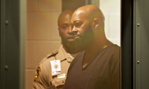 Suge Knight at one of many court appearances.