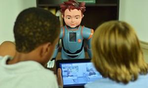Zeno, the smiling robot