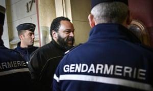 French comedian Dieudonné M'bala M'bala
