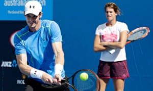 Andy Murray Amelia Mauresmo Australian Open