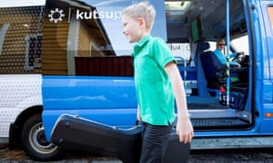 In Helsinki, Kutsuplus allows passengers to join together to use a shuttle service.