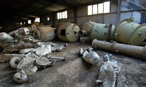 Chemical weapons Muthanna Iraq