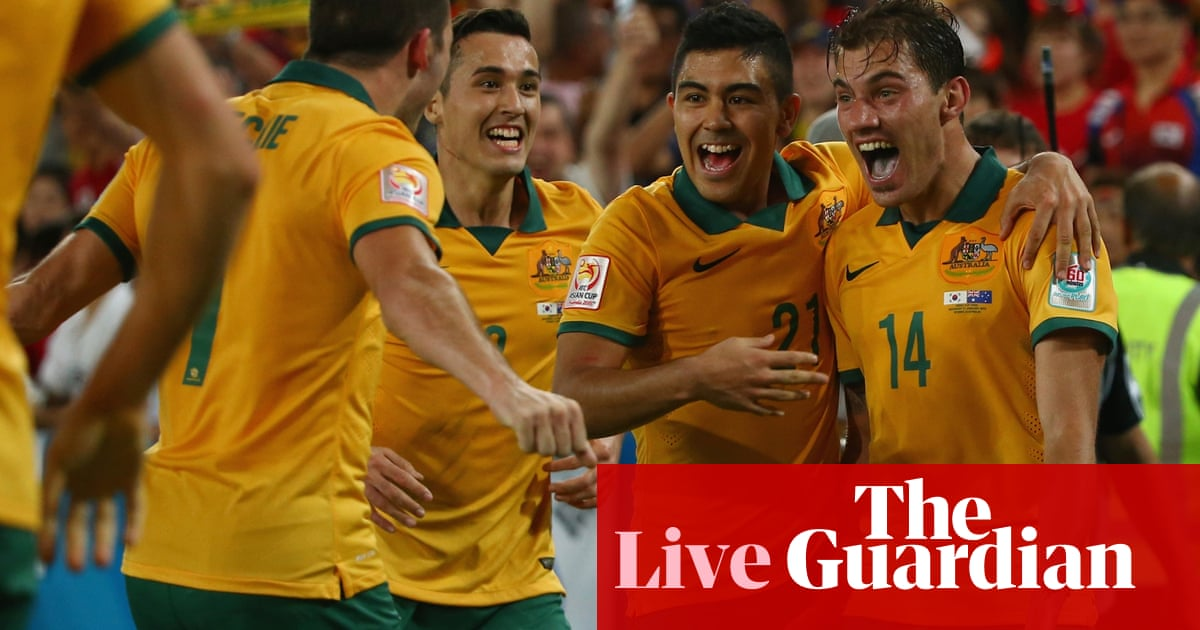 Asian Cup final  Australia 2-1 South Korea (aet) – as it happened ... cfa58680b