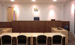 The Ministry of Justice wrongly informed people they needed to prove their innocence at a trial.