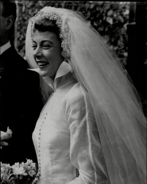 Geraldine Mcewan married Hugh Cruttwell in 1953