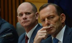 Campbell Newman and Tony Abbott