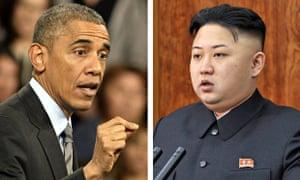 Obama and Kim