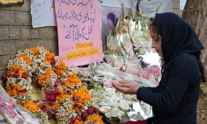 Peshawar school tributes