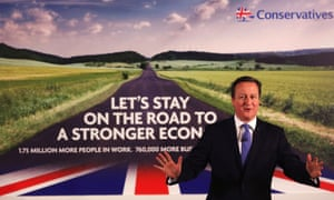 Cameron launches Conservative poster