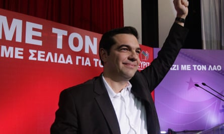 Alexis Tsipras, leader of main opposition leftwing party Syriza
