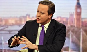 David Cameron on the BBC's Andrew Marr Show