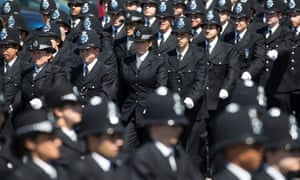 Metropolitan Police cadets' passing out parade, July 14, 2014.