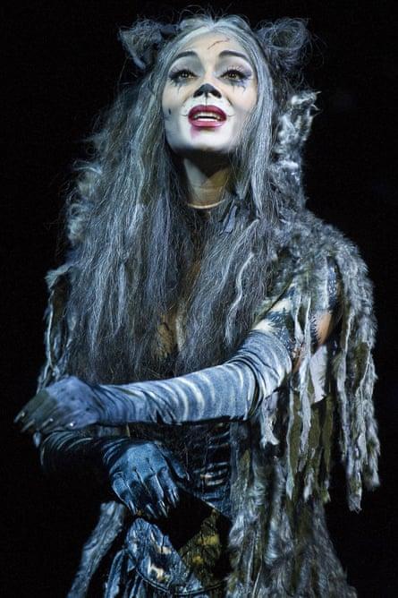 Nicole Scherzinger, pictured as Grizabella