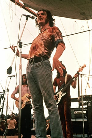 1970 Cocker performing at the Woodstock festival.