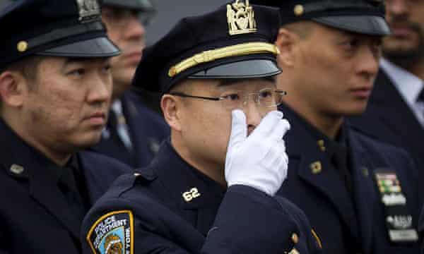 Wenjian Liu funeral