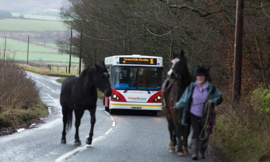 Coquetdale circular bus route