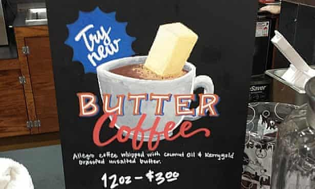 Butter coffee -- helping you lose weight in 2015?