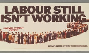 One of the famous Conservative campaign posters from 1978