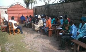 Educators are trained on teaching their communities how to prevent the spread of Ebola.