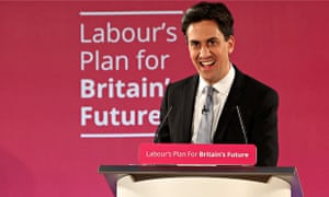 Ed Miliband launches Labour's election campaign in Salford