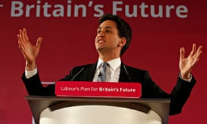 Ed Miliband launches his party's 2015 election campaign in Salford.