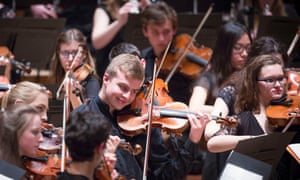 The National Youth Orchestra of Great Britain.