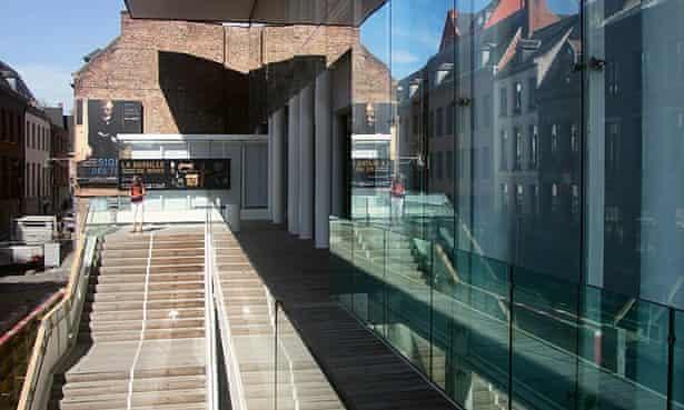 The BAM (Beaux Arts Mons) Museum of Fine Arts , Mons