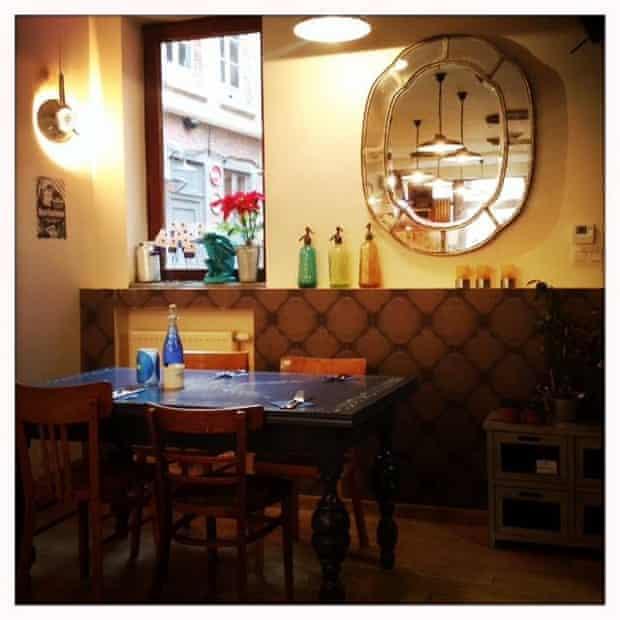 Boule de Bleu restaurant, Mons